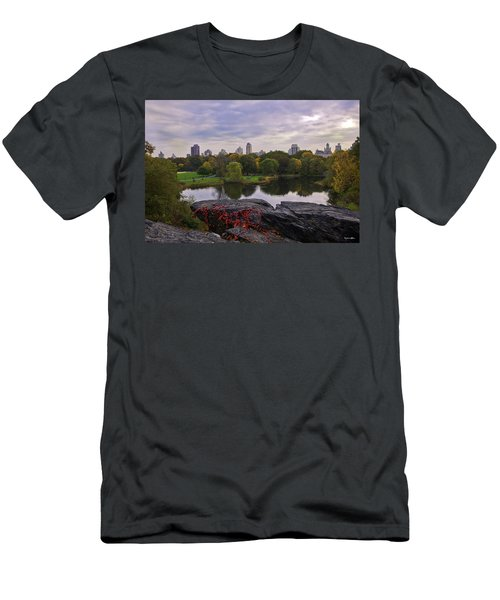 Across The Pond 2 - Central Park - Nyc Men's T-Shirt (Athletic Fit)