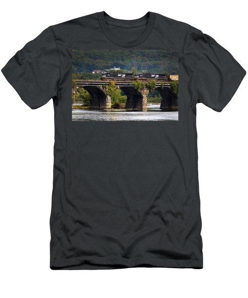 Across The Rockville Men's T-Shirt (Slim Fit) by Paul W Faust -  Impressions of Light