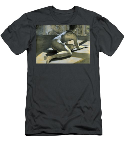 Men's T-Shirt (Athletic Fit) featuring the painting Admitting Our Falls by Rene Capone