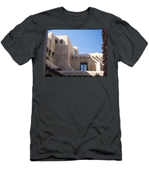 Adobe Sky Men's T-Shirt (Athletic Fit)