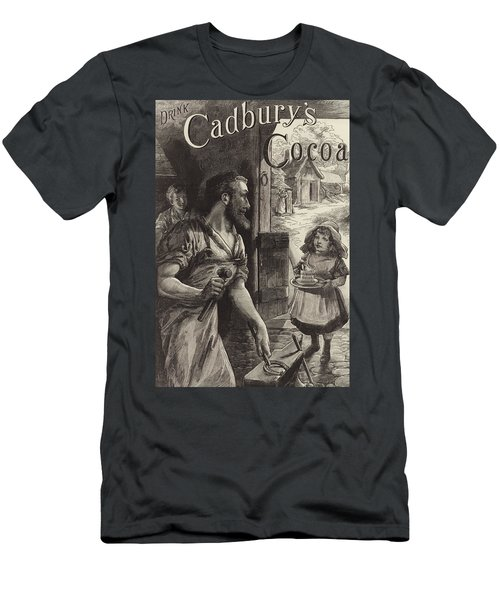 Advertisement For Cadburys Drinking Cocoa Men's T-Shirt (Athletic Fit)