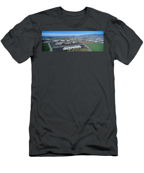 Aerial View, Silicon Valley Business Men's T-Shirt (Athletic Fit)