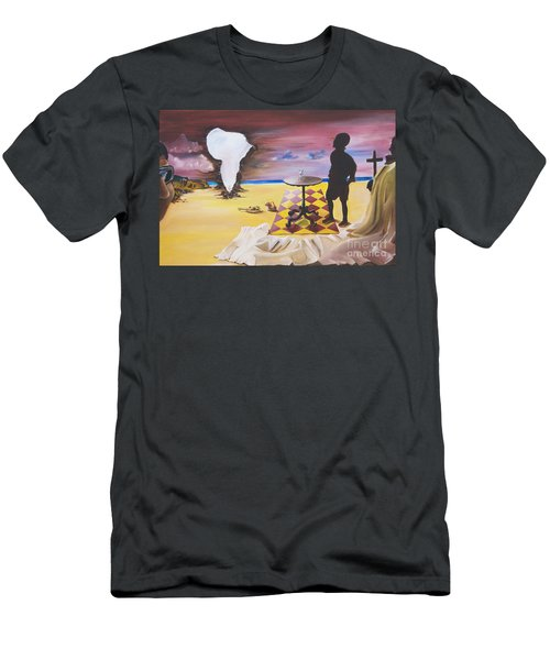 Africa Waits Men's T-Shirt (Athletic Fit)
