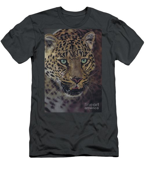 After Dark All Cats Are Leopards Men's T-Shirt (Athletic Fit)