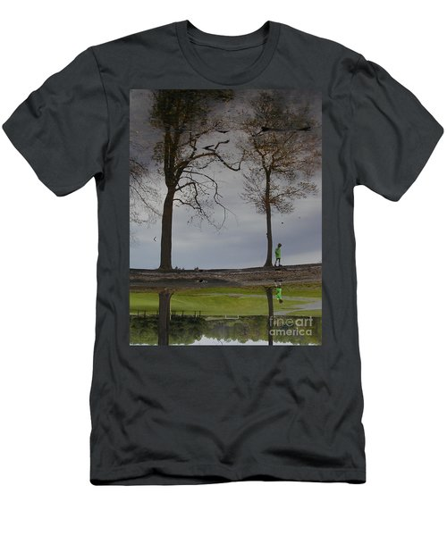 After Soccer By The Pond Men's T-Shirt (Athletic Fit)