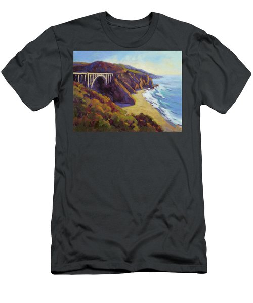 Afternoon Glow 3 Big Sur Men's T-Shirt (Athletic Fit)