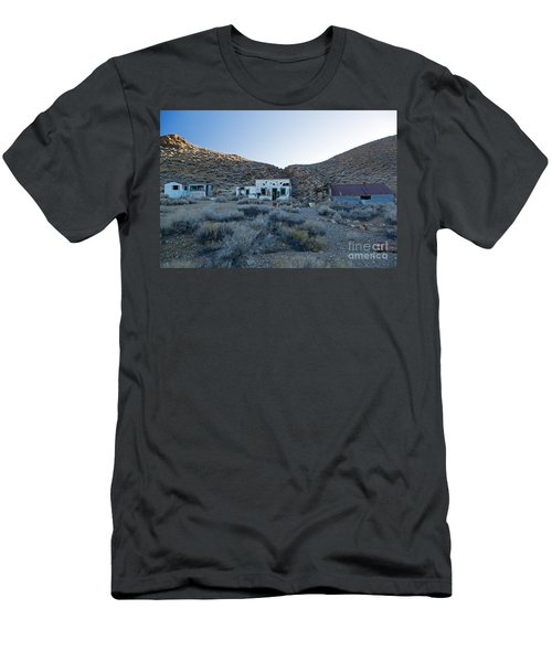 Aguereberry Camp Death Valley National Park Men's T-Shirt (Athletic Fit)