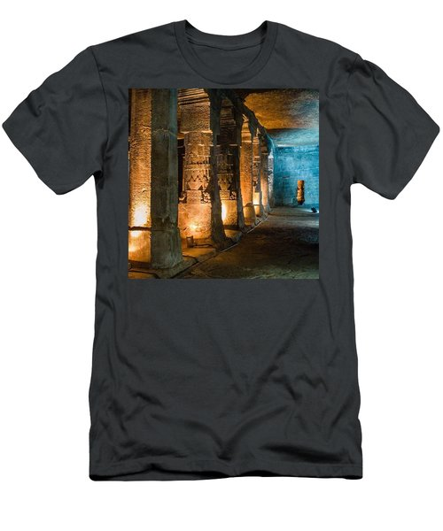 Ajanta Caves Men's T-Shirt (Athletic Fit)