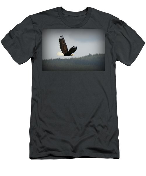 Alaskan Flight Men's T-Shirt (Athletic Fit)