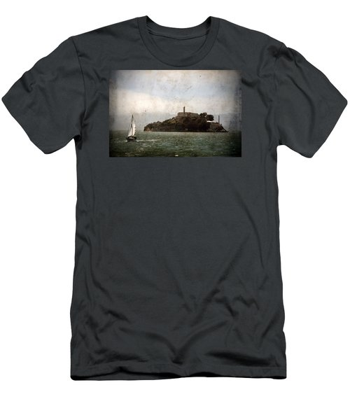 Alcatraz Island Men's T-Shirt (Athletic Fit)