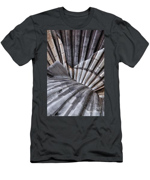 Aldeburgh Shell Abstract Men's T-Shirt (Athletic Fit)