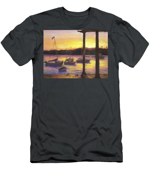 Algarve Sunset Men's T-Shirt (Athletic Fit)