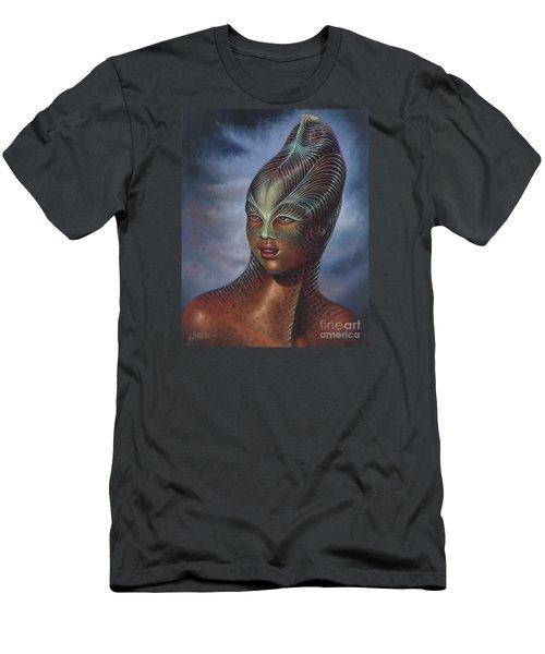 Alien Portrait I Men's T-Shirt (Athletic Fit)