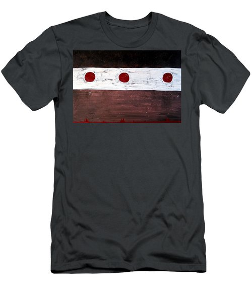 Alignment Original Painting Men's T-Shirt (Slim Fit) by Sol Luckman