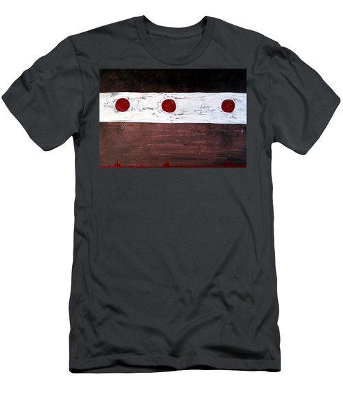 Alignment Original Painting Men's T-Shirt (Athletic Fit)