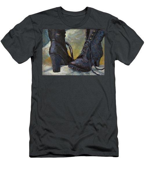 Ali's Boots Men's T-Shirt (Athletic Fit)