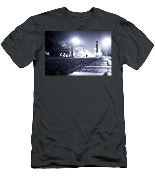 Alone Brooklyn Nyc Usa Men's T-Shirt (Athletic Fit)