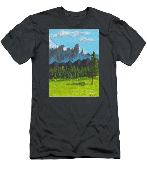 Alpine Meadow Men's T-Shirt (Athletic Fit)