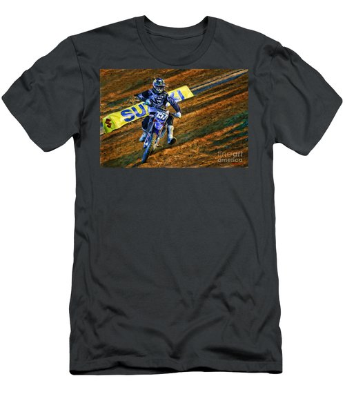 Ama 250sx Supercross Aaron Plessinger Men's T-Shirt (Athletic Fit)