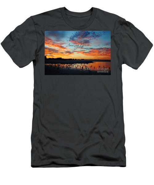 Men's T-Shirt (Slim Fit) featuring the photograph Amazing Grace On Siesta Key by Margie Amberge
