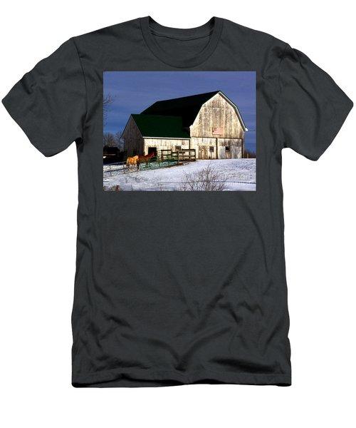 American Barn Men's T-Shirt (Athletic Fit)