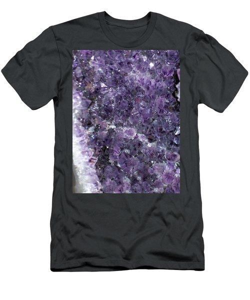 Amethyst Geode II Men's T-Shirt (Athletic Fit)