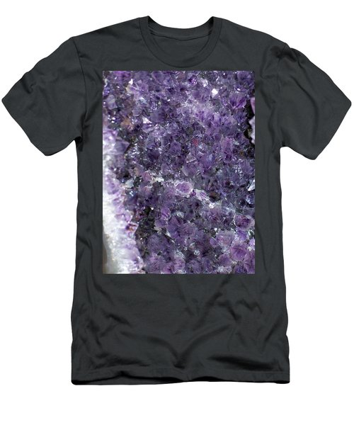 Amethyst Geode II Men's T-Shirt (Athletic Fit)