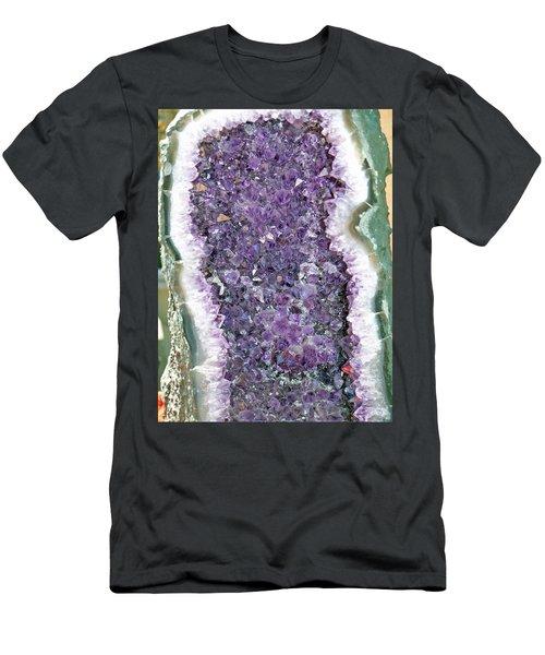 Amethyst Geode Men's T-Shirt (Athletic Fit)