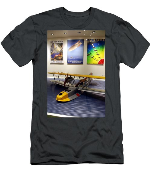 Amphibious Plane And Era Posters Men's T-Shirt (Athletic Fit)