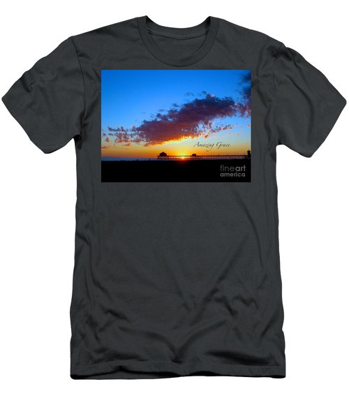 Men's T-Shirt (Slim Fit) featuring the photograph Amzing Grace 7 by Margie Amberge