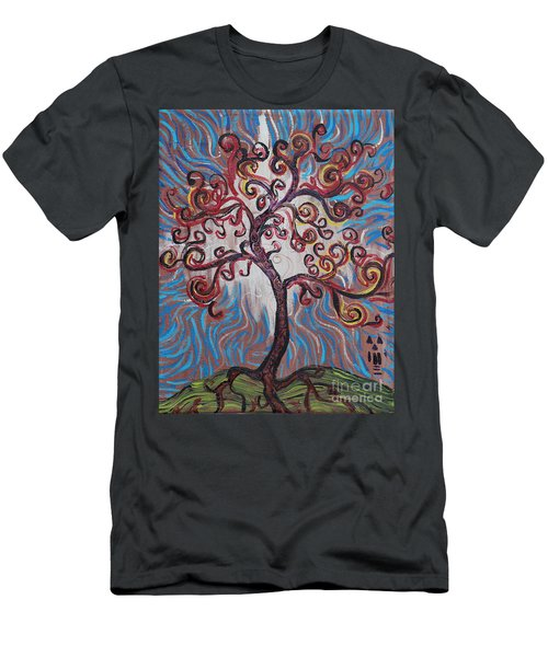 An Enlightened Tree Men's T-Shirt (Athletic Fit)