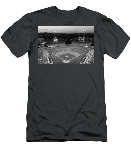 An Evening Game At Dodger Stadium Men's T-Shirt (Athletic Fit)