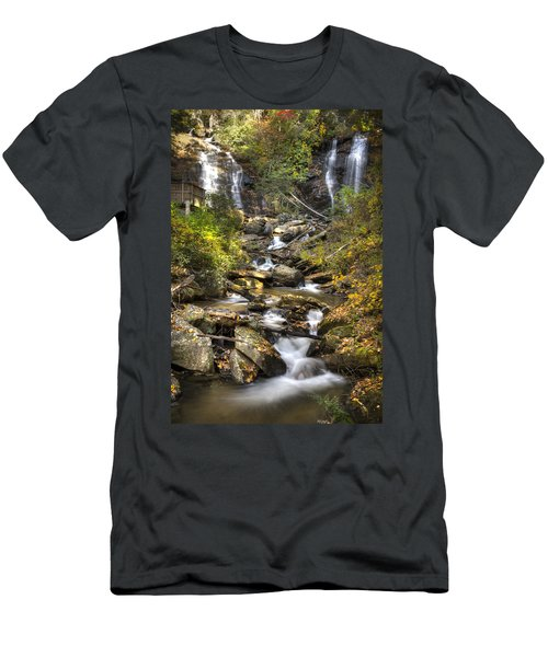 Ana Ruby Falls In Autumn Men's T-Shirt (Athletic Fit)