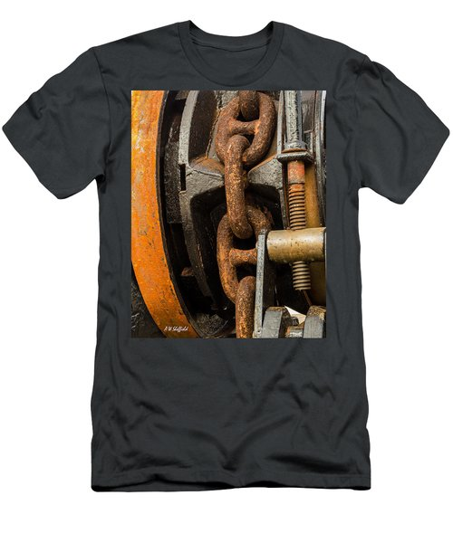 Anchor Chain - Tall Ship Elissa Men's T-Shirt (Athletic Fit)