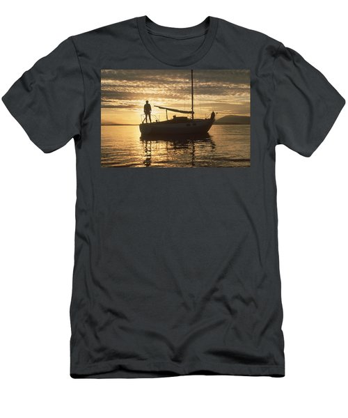 Anchored Men's T-Shirt (Athletic Fit)