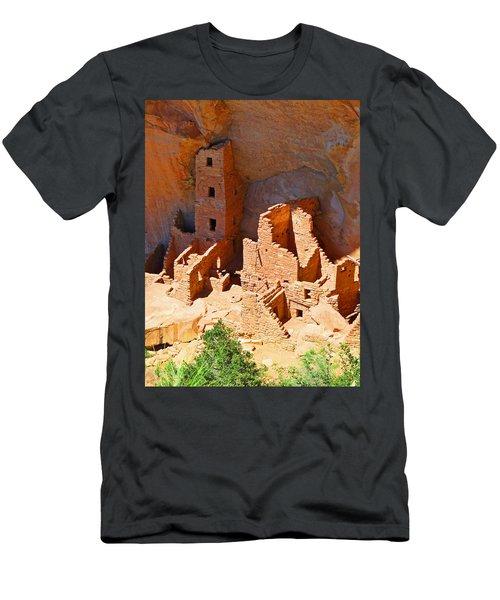Ancient Dwelling Men's T-Shirt (Athletic Fit)