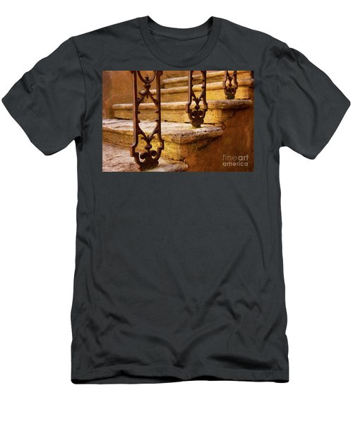 Men's T-Shirt (Athletic Fit) featuring the photograph Ancient Steps by Brian Jannsen
