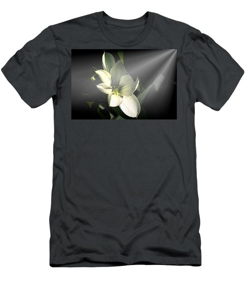 And There Was Light Men's T-Shirt (Athletic Fit)