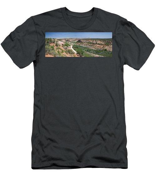 Angel Canyon Utah Men's T-Shirt (Athletic Fit)