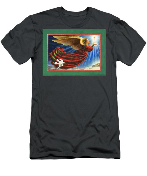 Angel Of The Star Men's T-Shirt (Athletic Fit)
