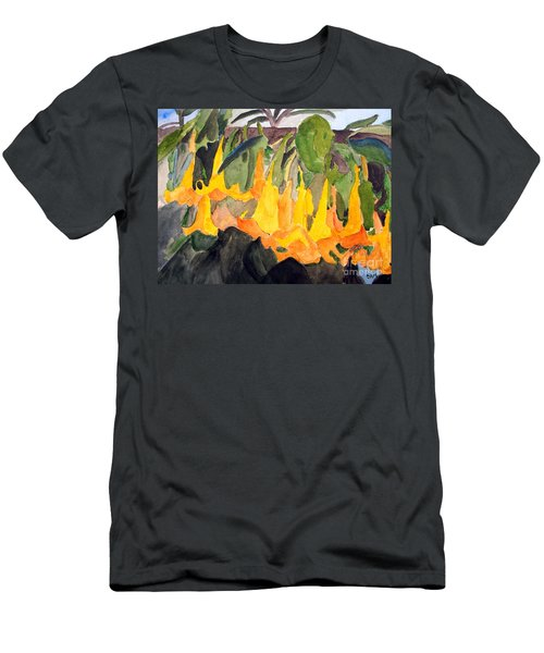 Angel Trumpets Men's T-Shirt (Athletic Fit)