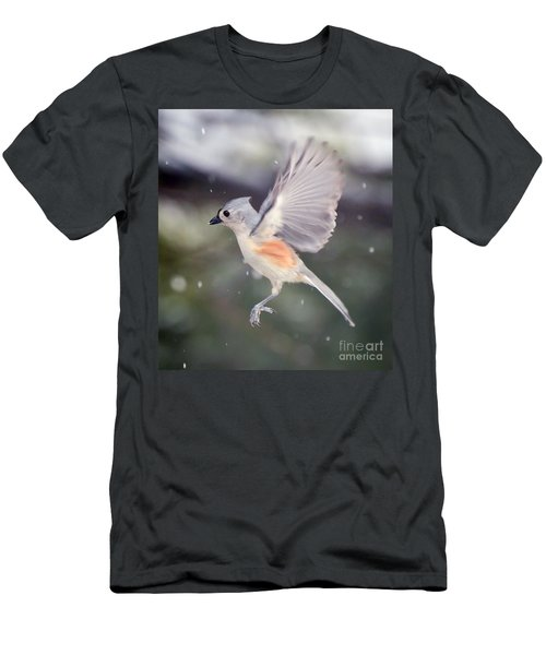Men's T-Shirt (Slim Fit) featuring the photograph Angel Wings by Kerri Farley