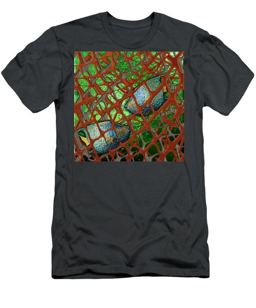 Angels Caught In An Emerald Pool Men's T-Shirt (Athletic Fit)