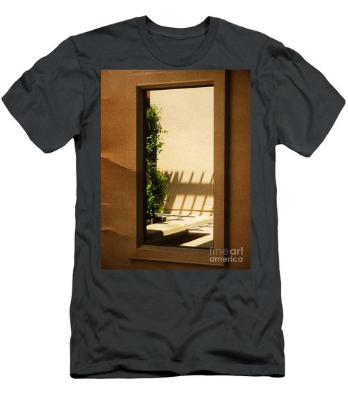 Angled Reflections2 Men's T-Shirt (Athletic Fit)