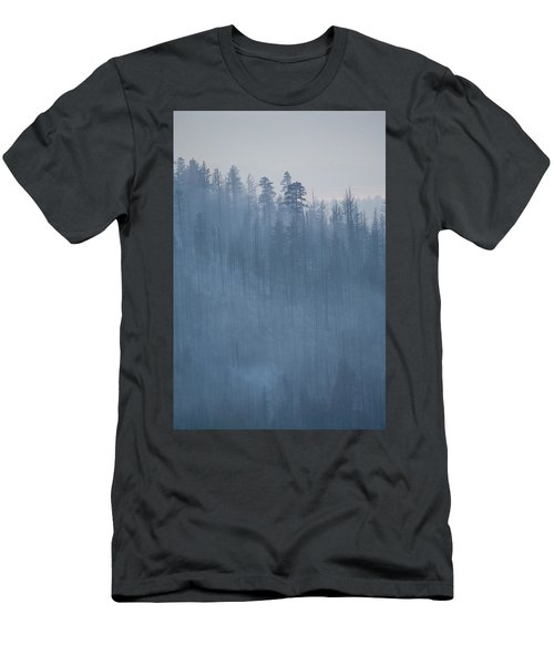 Angora Fire In South Lake Tahoe, Ca Men's T-Shirt (Athletic Fit)