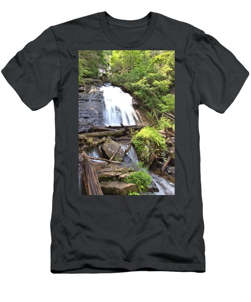 Anna Ruby Falls - Georgia - 4 Men's T-Shirt (Athletic Fit)