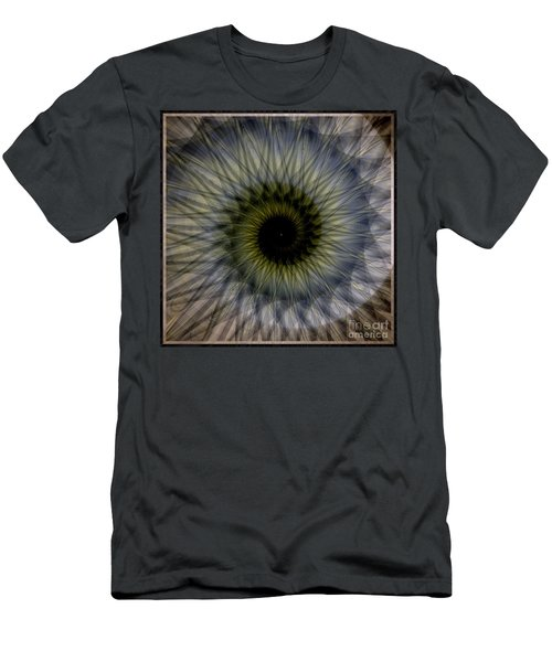 Another Spiral  Men's T-Shirt (Slim Fit) by Elizabeth McTaggart