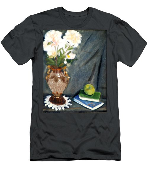 Antique Vase And Flower Men's T-Shirt (Athletic Fit)