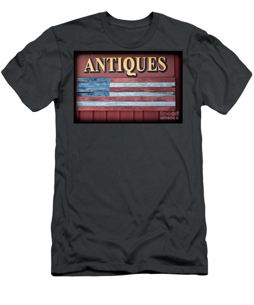 Antiques Men's T-Shirt (Slim Fit) by Colleen Kammerer