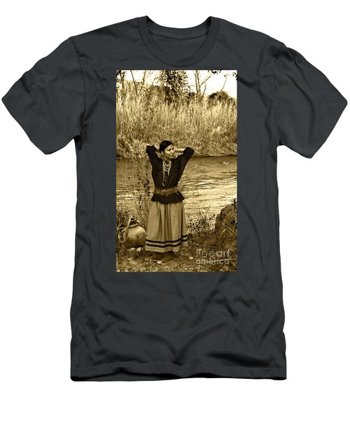 Apache River Maiden Men's T-Shirt (Athletic Fit)